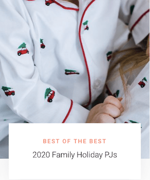 Best of the Best 2020 Family Holiday PJs