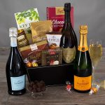 Champagne And Truffles Gift Basket