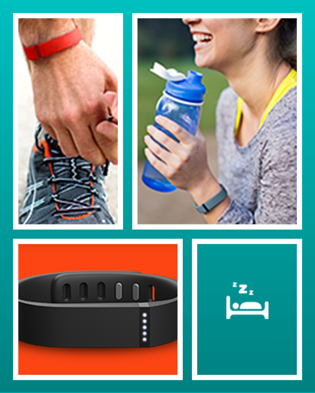 The Best Wireless Activity & Sleep Wristband – Fitbit Flex, Health, Fitness, Exercise, Diet, Sleep Monitor,