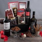 Red Wine and Dark Chocolate Gift-Basket Closing Gifts