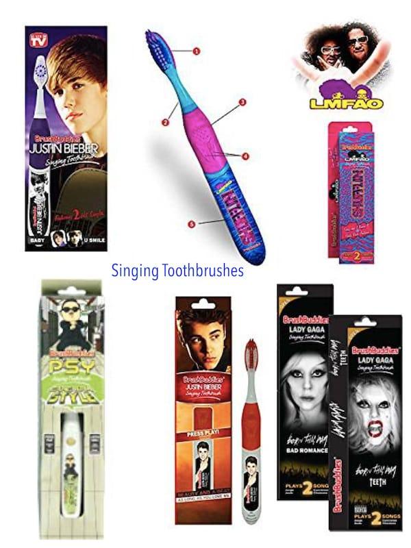 Singing Toothbrushes