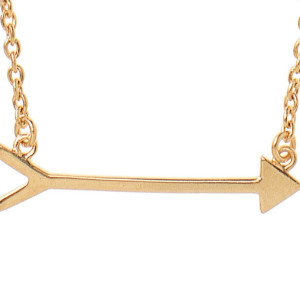 "Best Pi Beta Phi ""On the Mark"" Arrow Necklace"