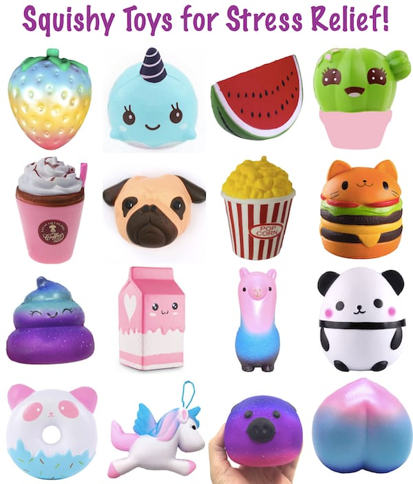 Squishy Toys For Stress Relief