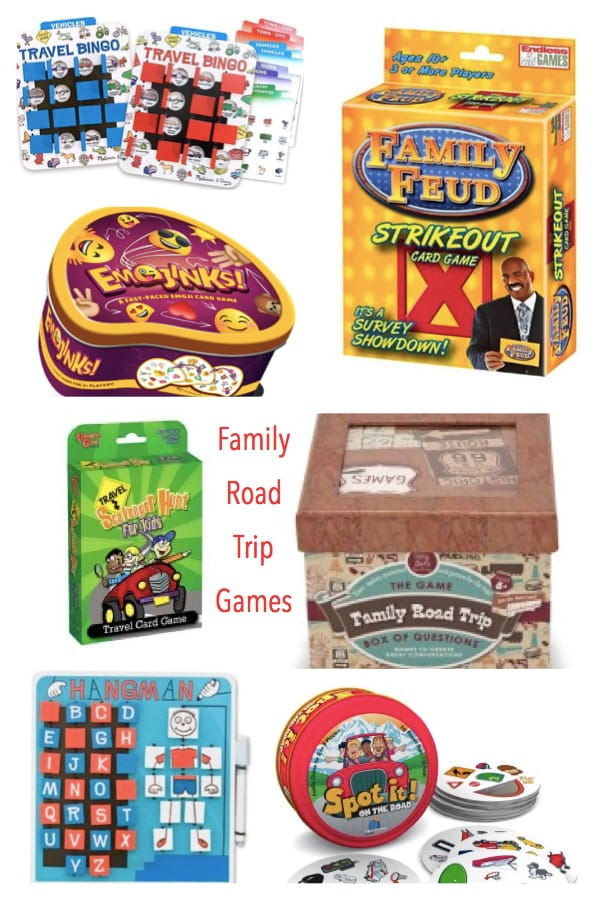 Family Road Trip Travel Games