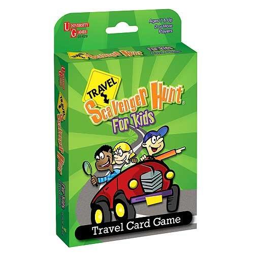 Road Trip Scavenger Hunt For Kids Cards
