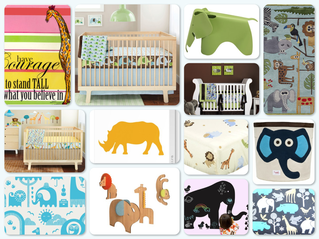 African Inspired Safari Theme Nursery Decor Ideas