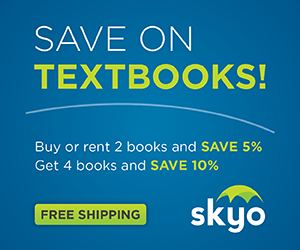 Skyo Textbook Rentals, Rent College Textbooks