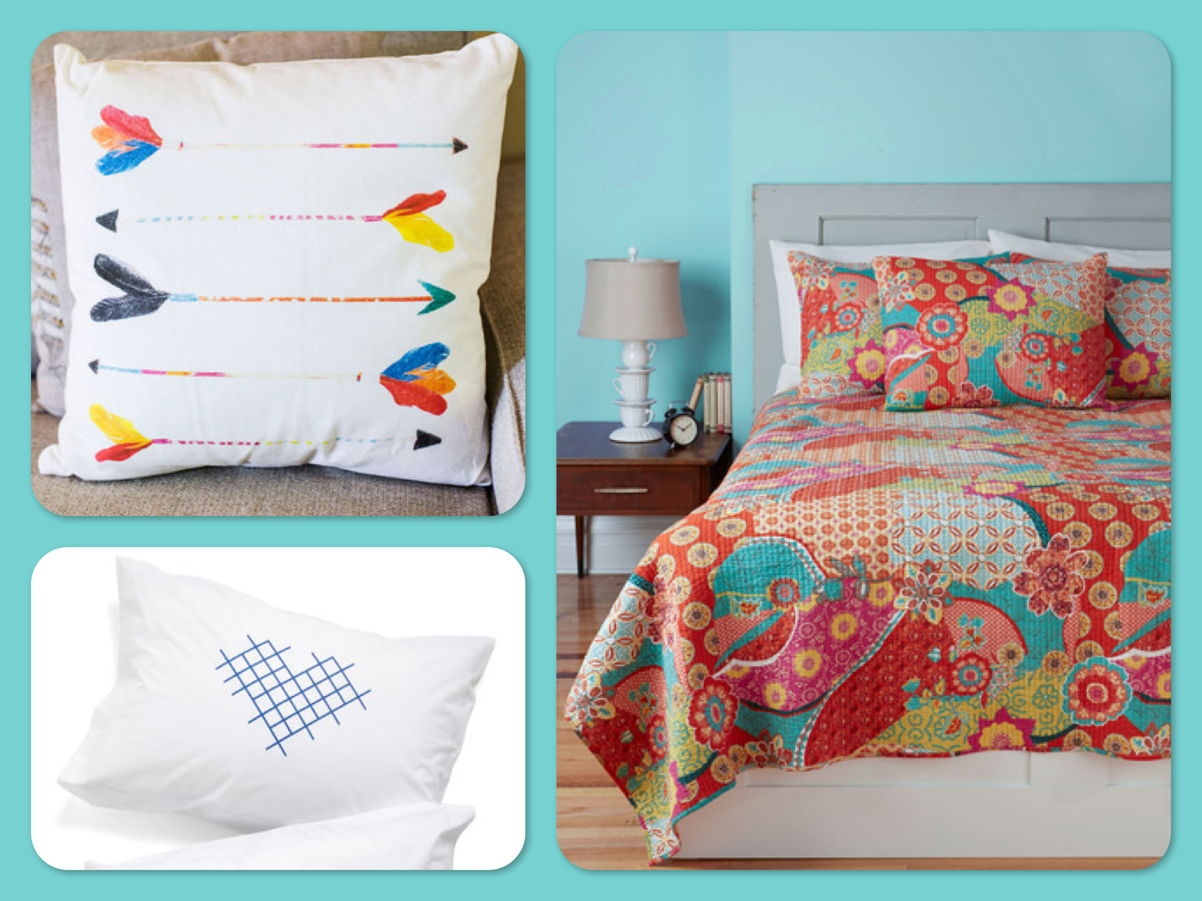 Pi Beta Phi Room Room Decor with Arrow Decorative Pillow