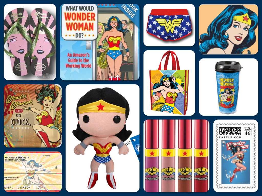 Wonder Woman Theme Parties, Gifts & Inspiration