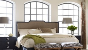 Zinc Door Upholstered Bed & Furniture