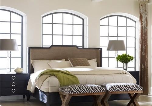 Zinc Door Upholstered Bed \u0026 Furniture & Zinc Door Upholstered Furniture Sale | Modern . Livable . Decor ...