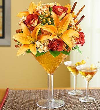 Autumn Flower Cocktail