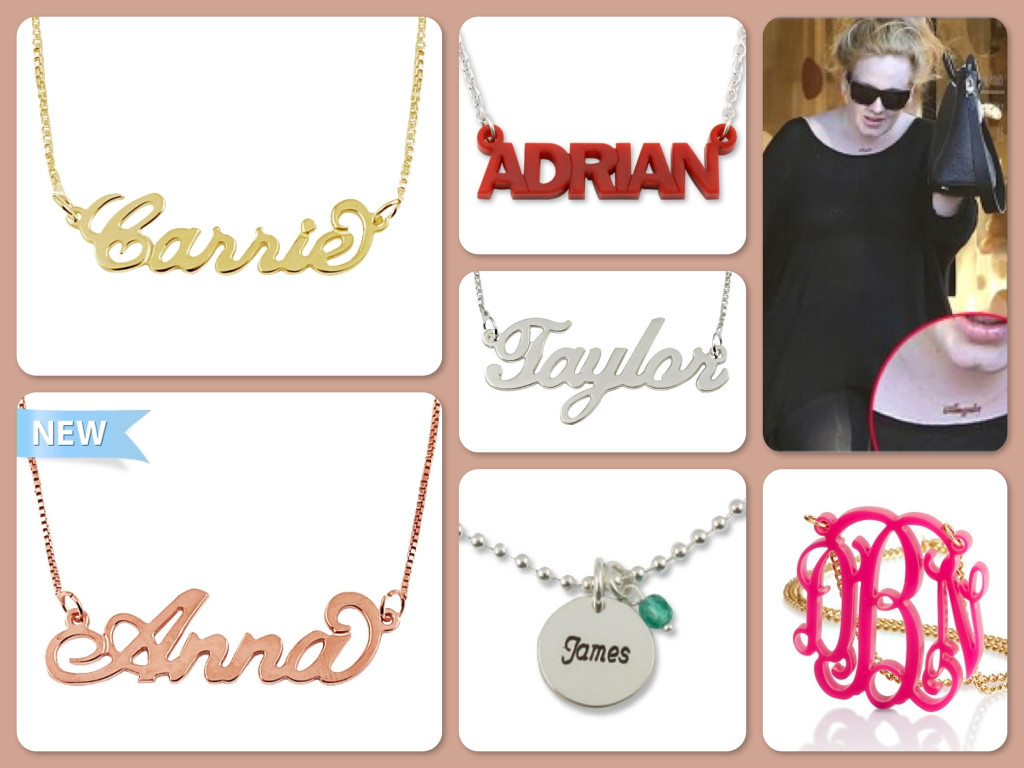 Name Necklaces Make Great New Mommy Gifts