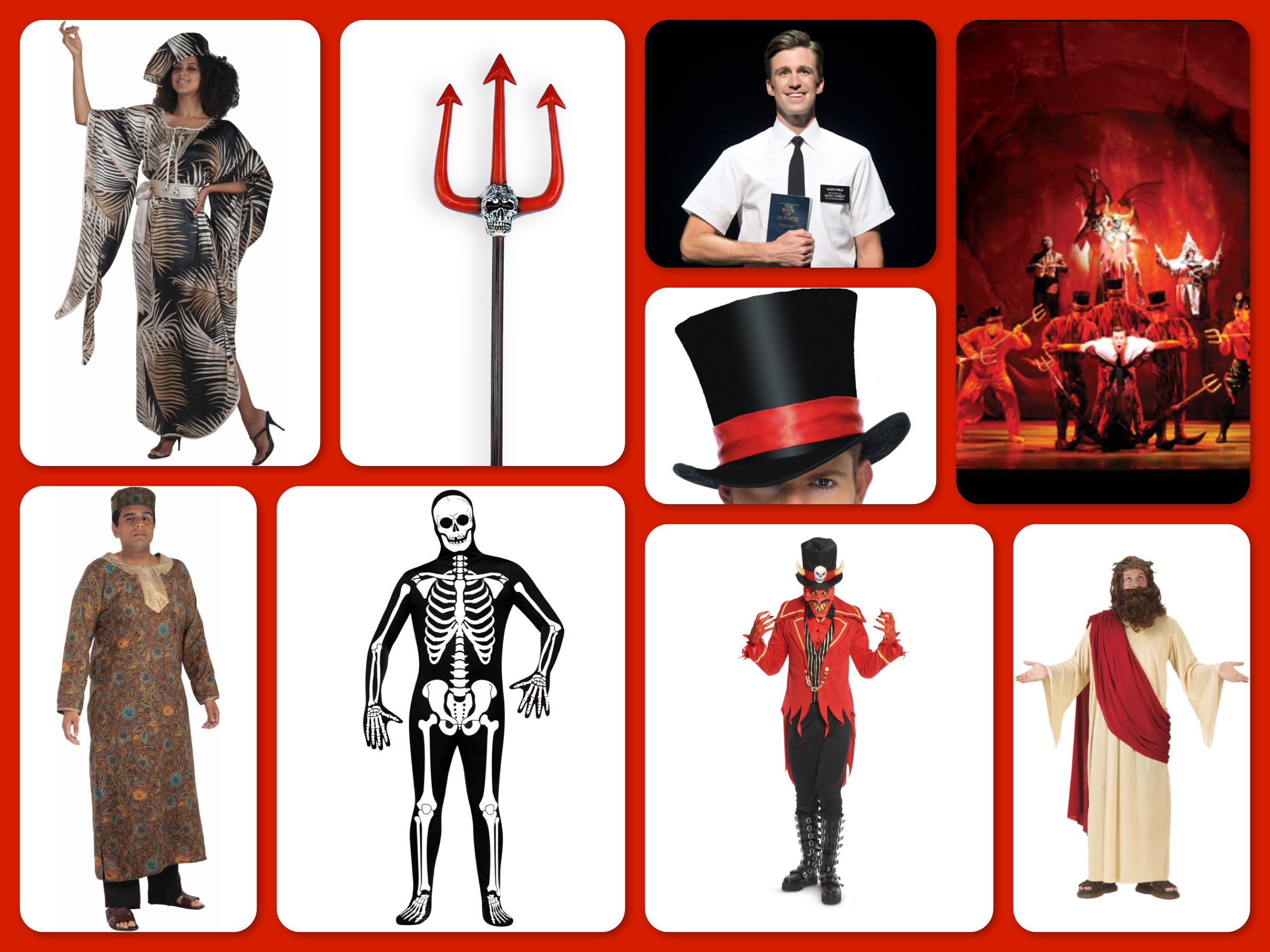 halloween costume ideas book of mormon group costume - Mormon Halloween Costumes