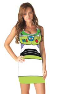 Buzz Lightyear tank dress