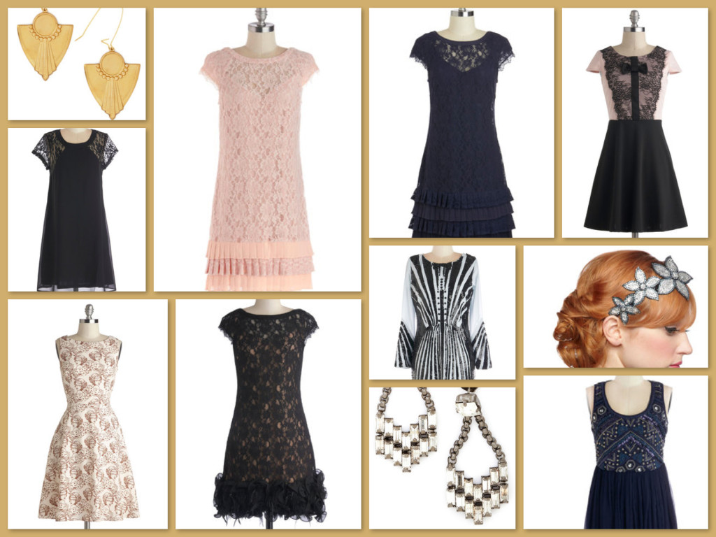 Great Gatsby Roaring 20s New Years Party Dresses