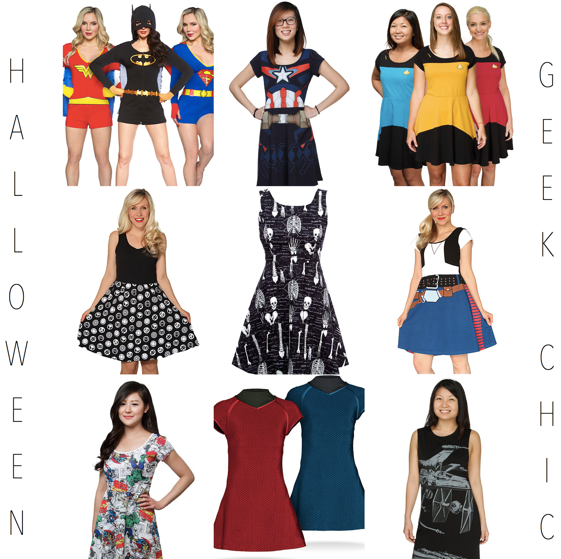Halloween Geek Chic