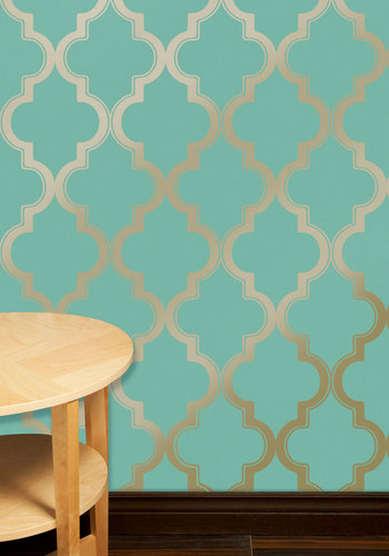Chic Removable Wallpaper As Seen On Hgtv 39 S Power Broker