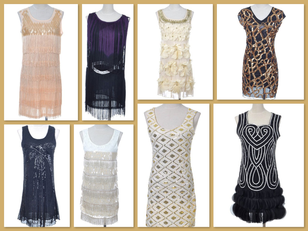 Roaring 20s Great Gatsby New Years Eve Party Dresses