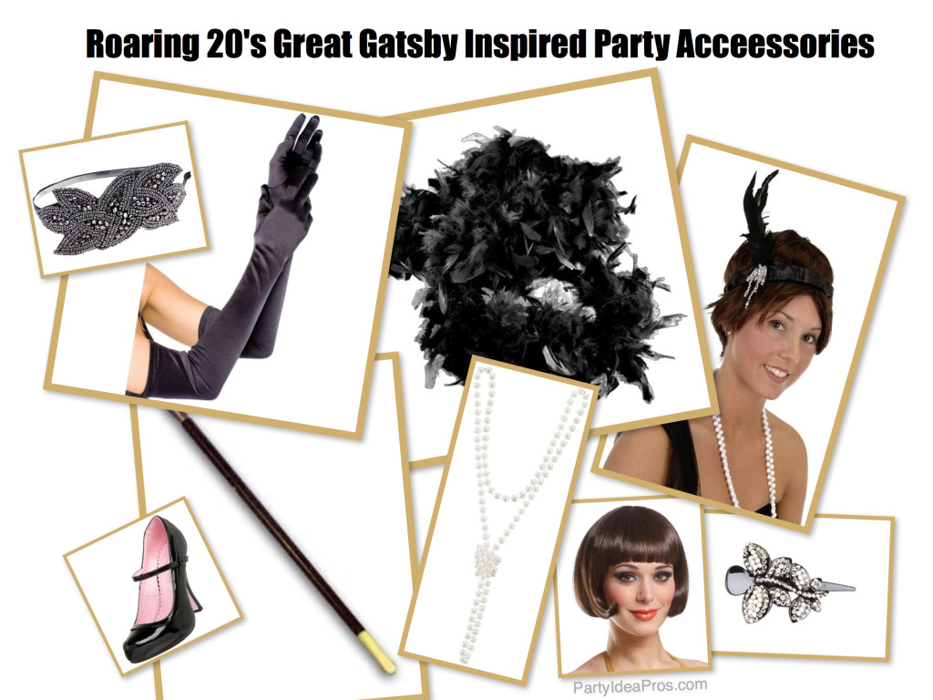 Roaring 20s Great Gatsby Inspired Party Acceessories