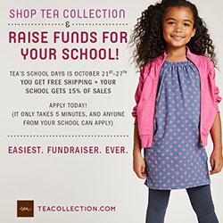 Tea Collection's School Days Fundraiser