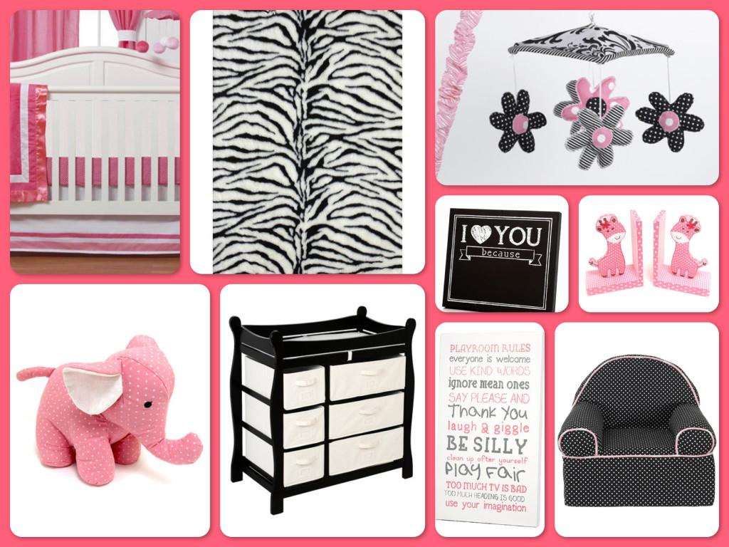Zulily Dream Nursery Pink Amp Zebra Baby Room Decor