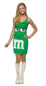 green m and m tank dress