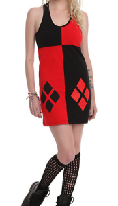 harley quinn tank dress