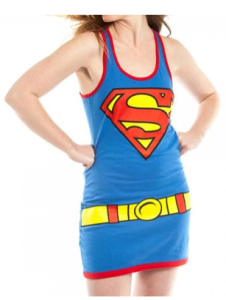 superman tank dress