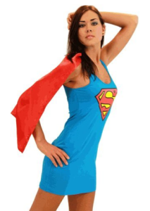 superwoman tank dress