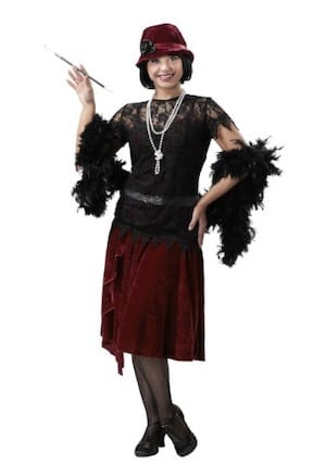 Toe Tapping Flapper Plus Size Costume