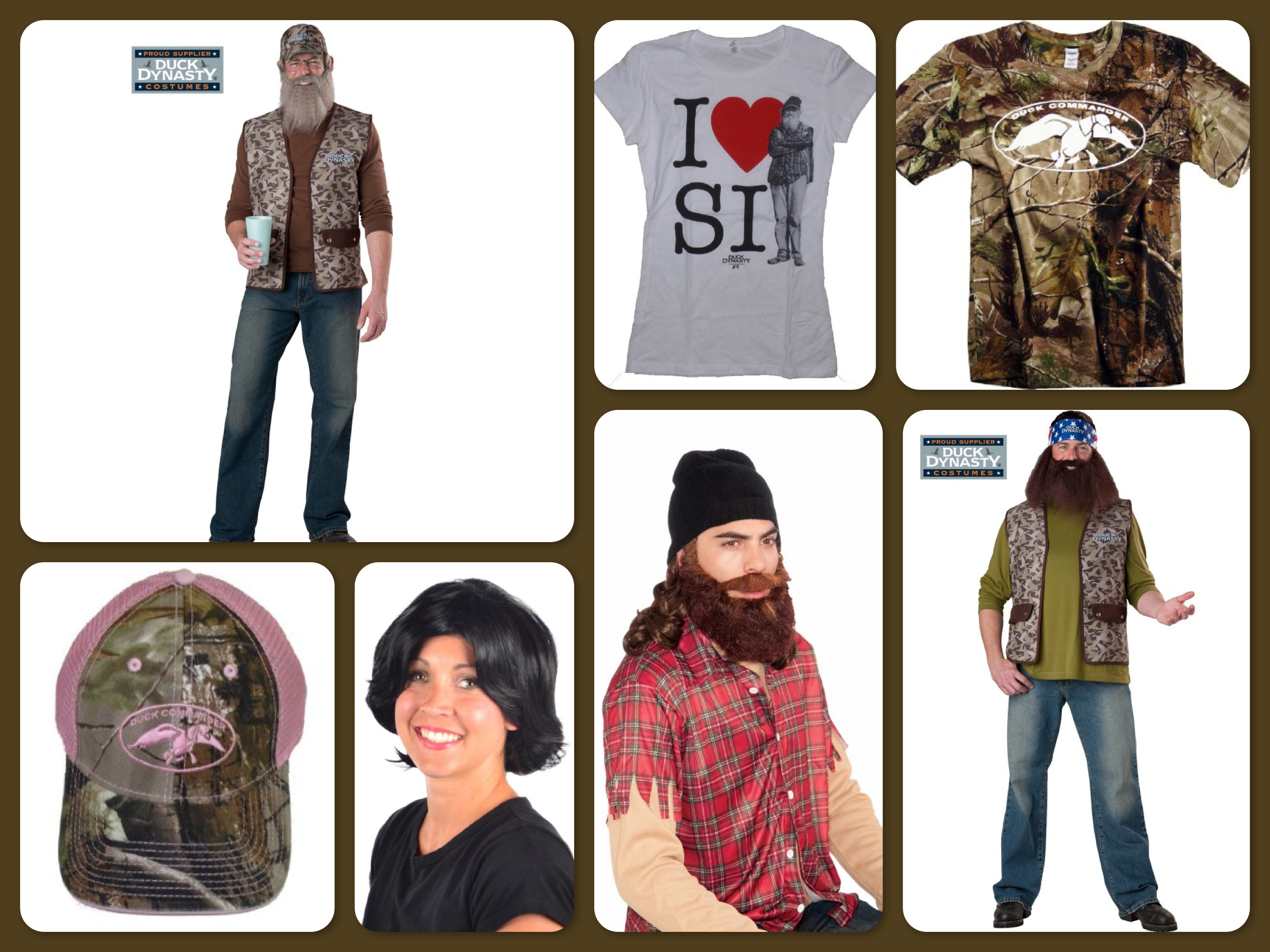 Halloween Costume Ideas | Duck Dynasty Group Costumes | GreatGets.com