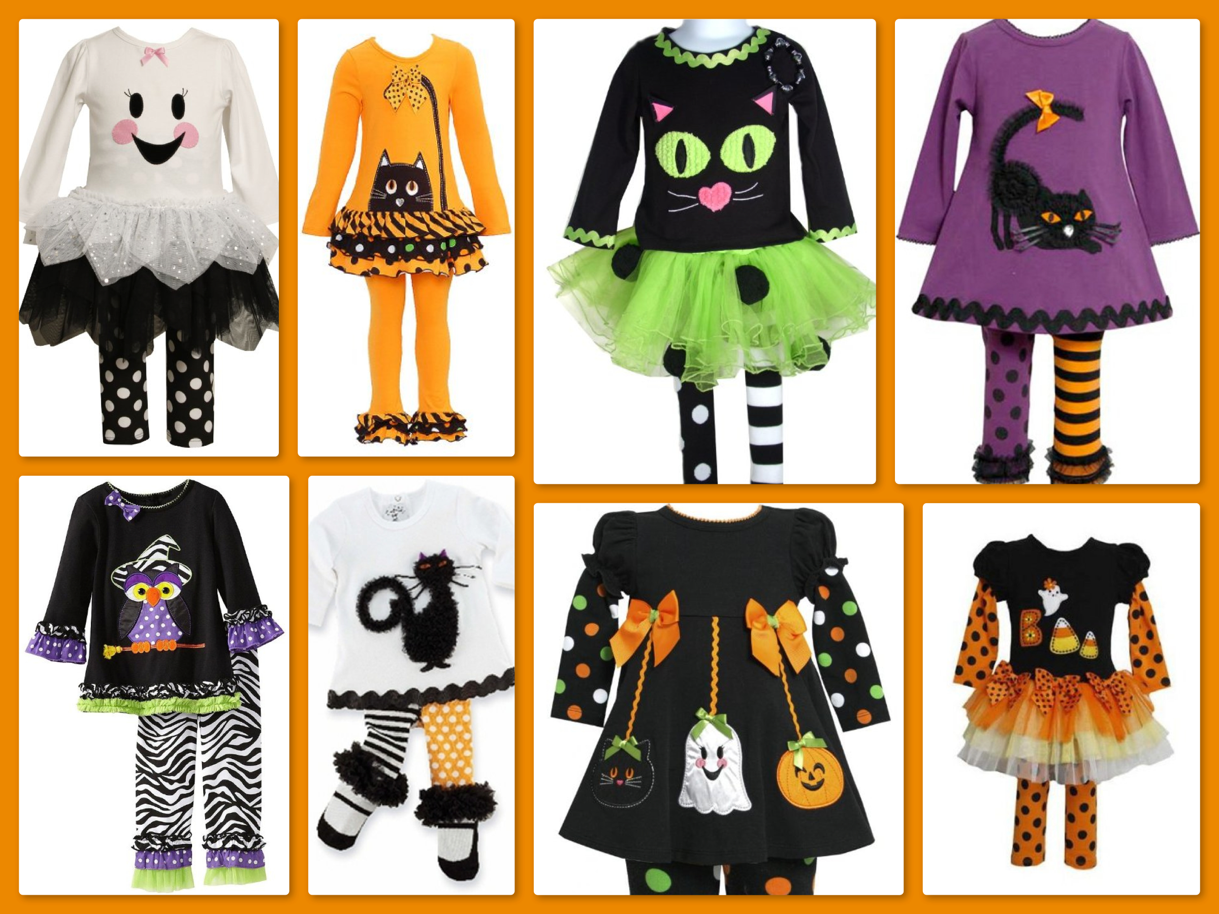 Girls Halloween Outfits