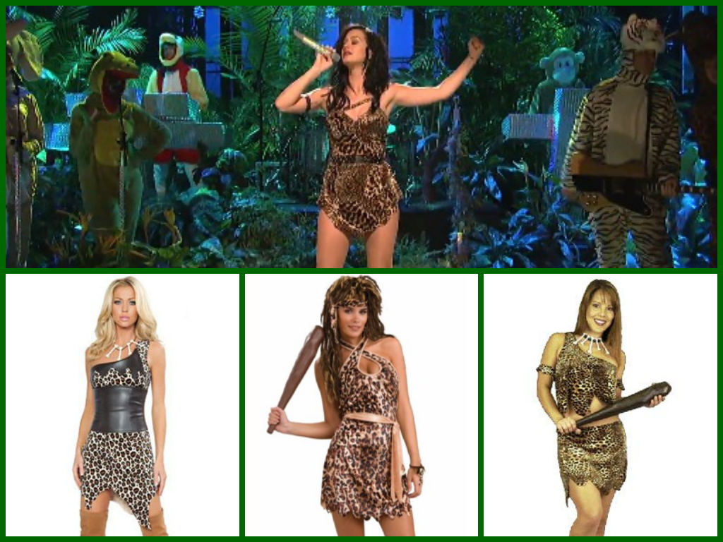 Katy Perry SNL Roar Costume