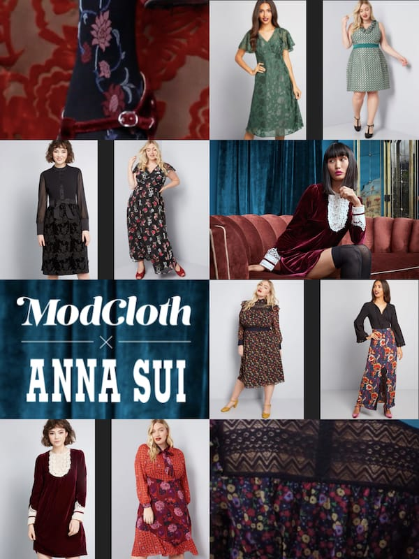 Modcloth and Anna Sui Collaboration