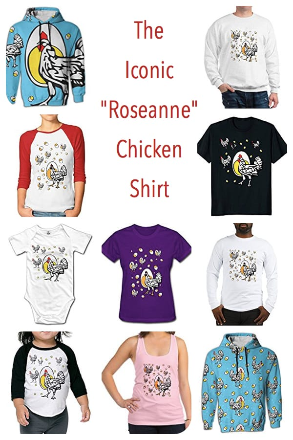 Roseanne Chicken Shirts