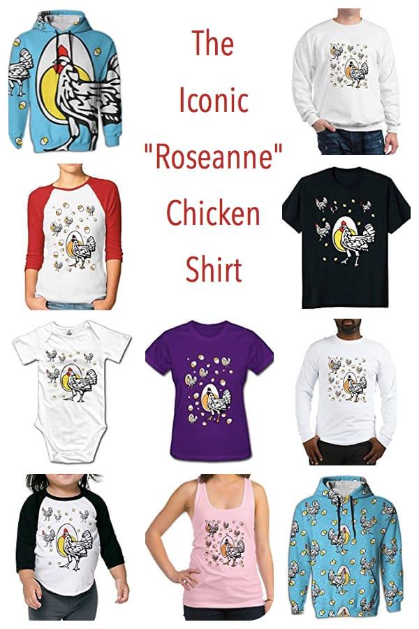 Roseanne Chicken Shirts