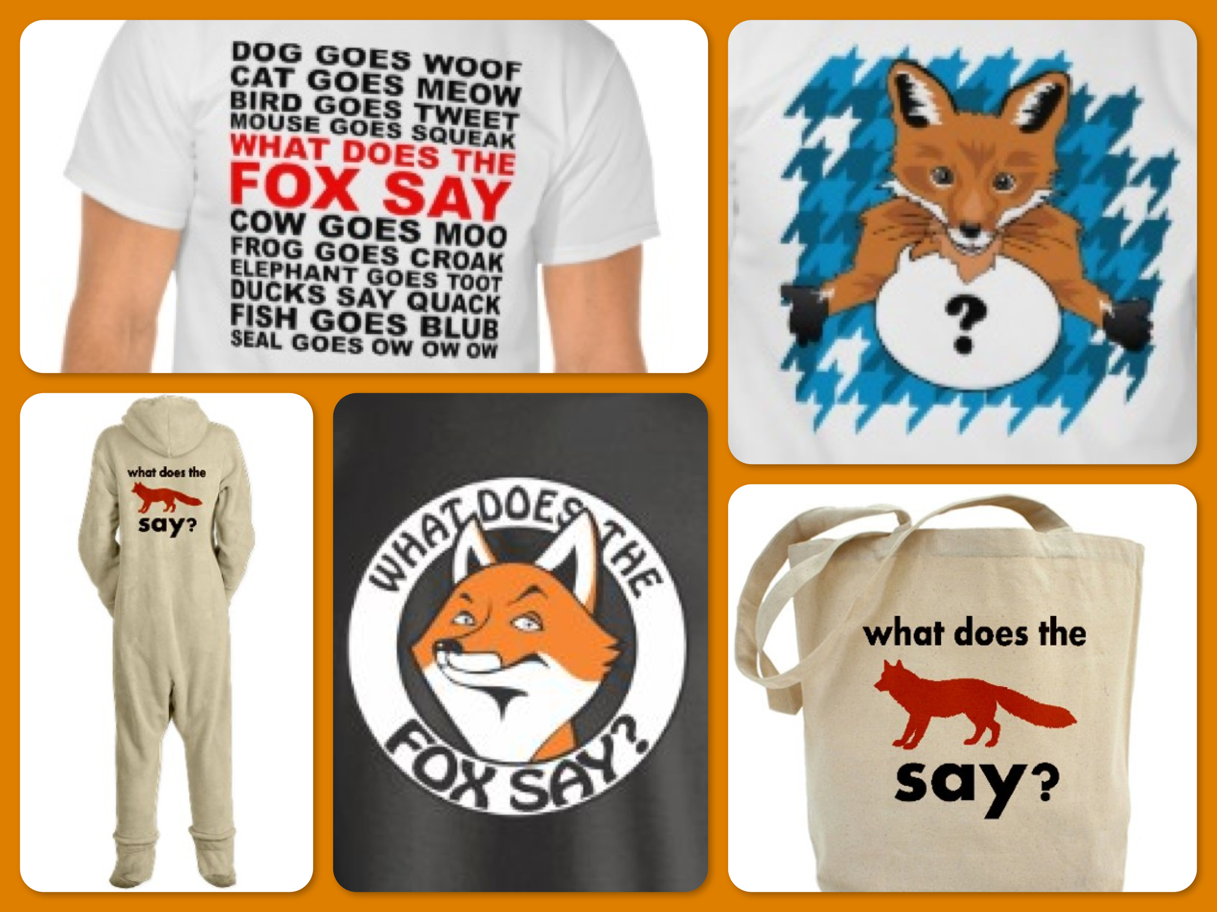 What Does The Fox Say Costumes & Apparel