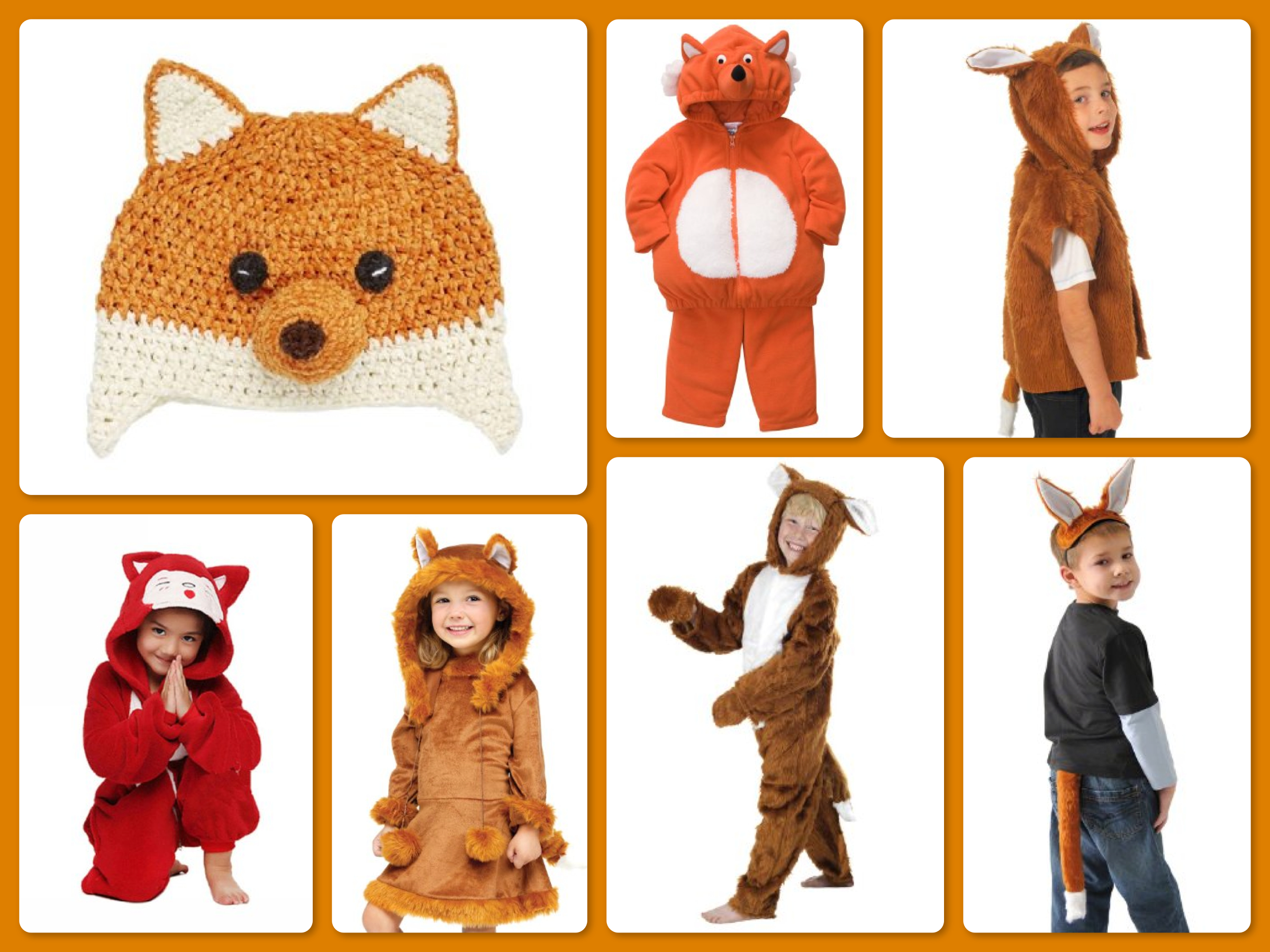 What Does The Fox Say Children's Fox Costumes