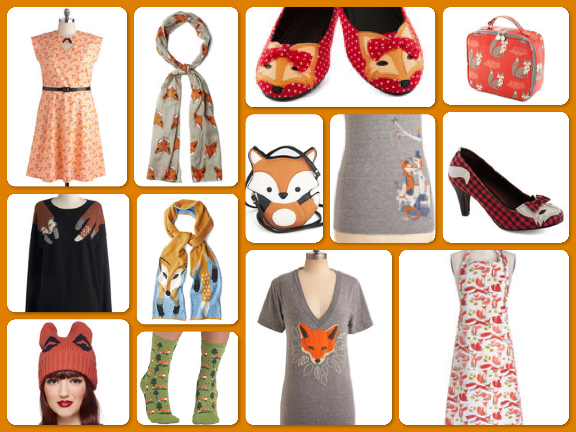 What Does The Fox Say Clothes, Shoes & Accessories from ModCloth