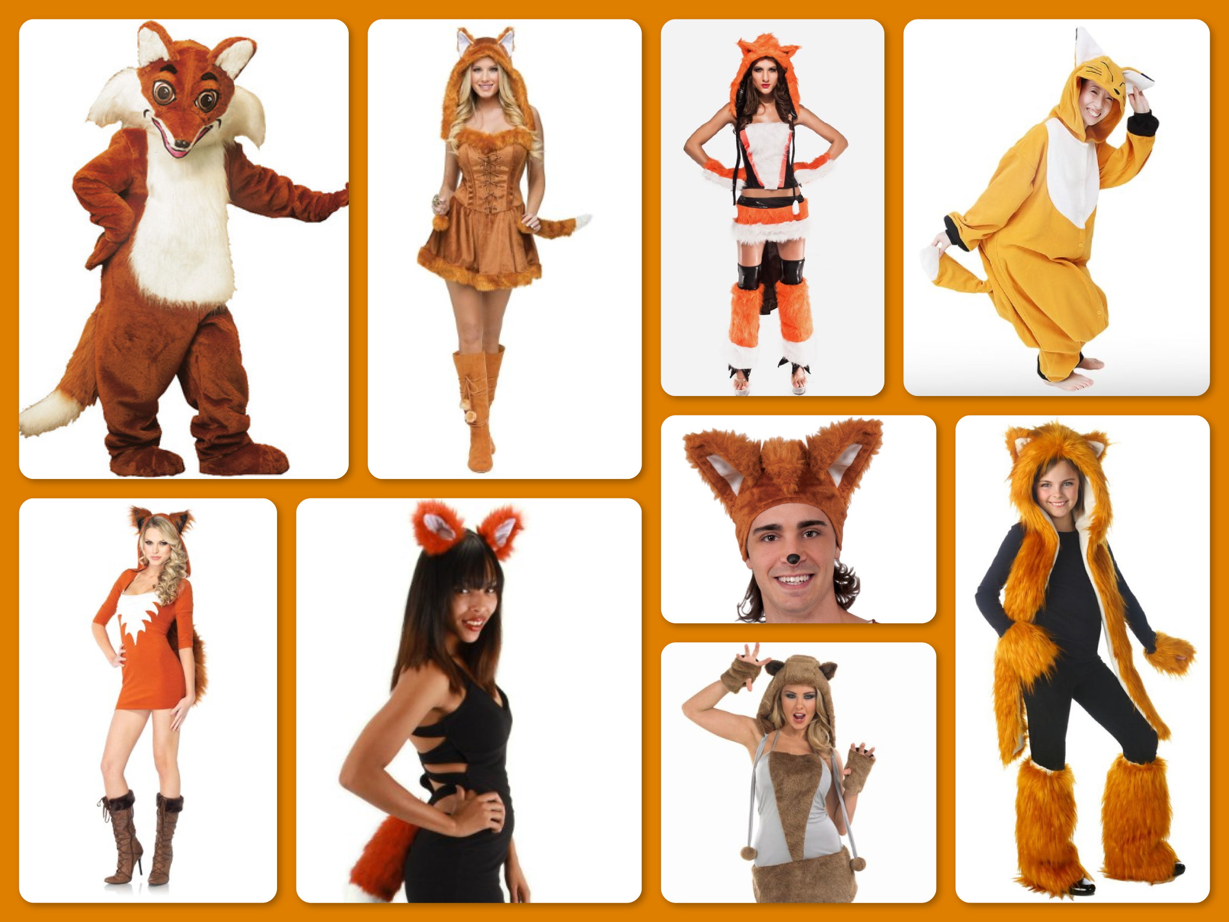 What Does The Fox Say Adult Fox Costumes & Accessories