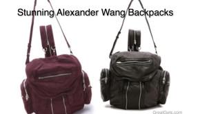 Stunning Alexander Wang Backpack