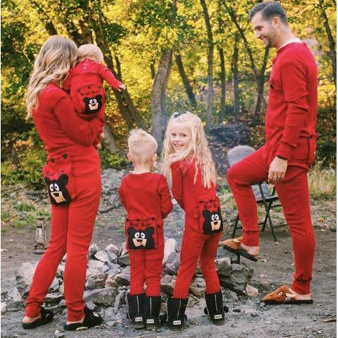 Bear Bum Flapjack Family Matching Pajamas