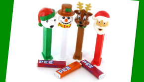 Christmas Pez Make Great Gift Ornaments & Fun Stocking Stuffers