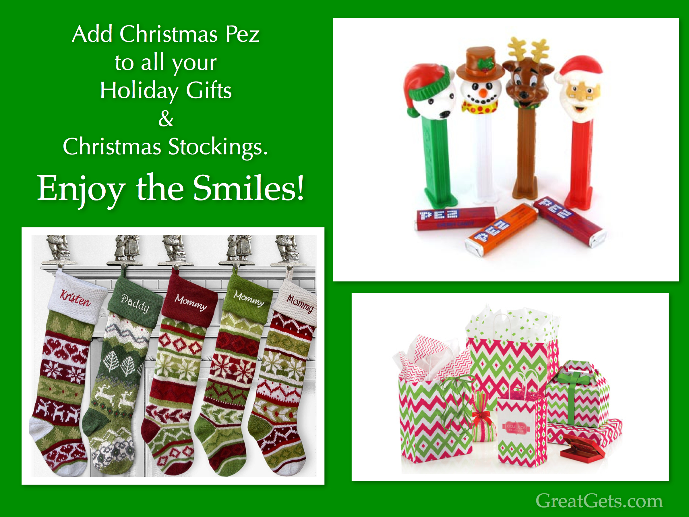 Add Christmas Pez to your Holiday Gifts & Christmas Stockings