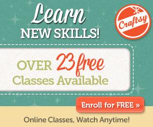 Craftsy free classes