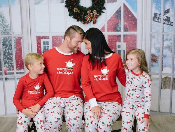 Family Christmas Santa Pajama
