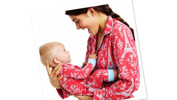 a9fdb9e97b Adorable Matching Mother Daughter Pajamas
