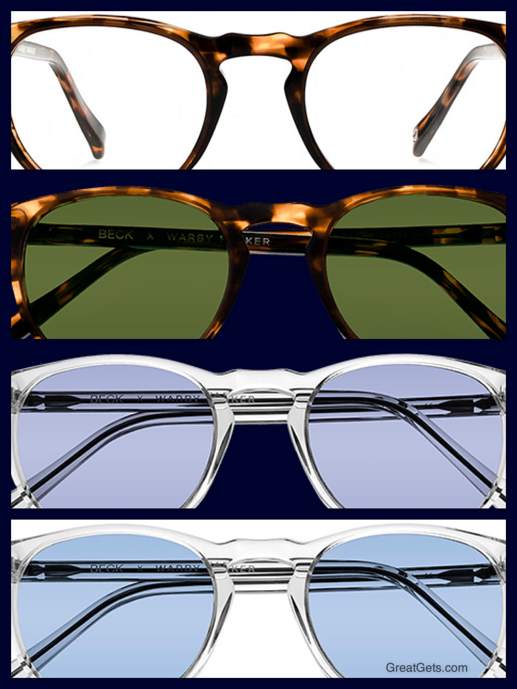 Warby Parker Limited Edition Carmichael Collection