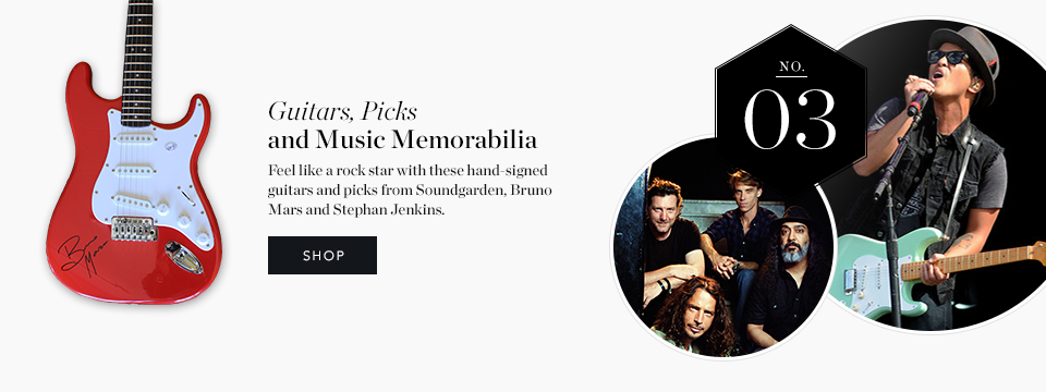 Best Holiday Gifts - Music Memorabilia